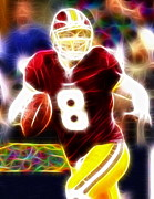 Magical Rex Grossman Print by Paul Van Scott