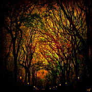 Central Park Digital Art Prints - Magick Mall Print by Chris Lord