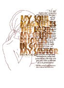 Dedication Prints - Magnificat Print by Judy Dodds