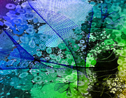 Netting Mixed Media - Magnification 2 by Angelina Vick
