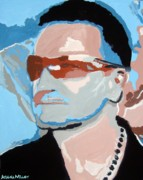 Bono Painting Prints - Magnificent Print by Azalea Millet