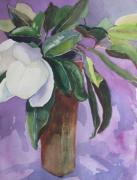 Magnolia Print by Elizabeth Carr