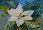 Kerri Ligatich Prints - Magnolia Print by Kerri Ligatich