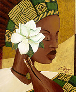 Diversity Paintings - Magnolia by Sean Vass