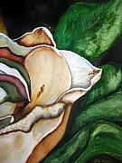 Southern Plantation Paintings - Magnolia You Sweet Thing by Lil Taylor