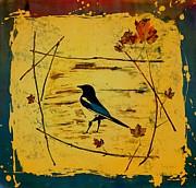 Carolyn Doe - Magpie Framed in Maple