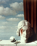 Blood Art - Magritte: Memory by Granger