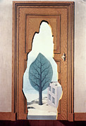 Ghislain Framed Prints - Magritte: Perspective Framed Print by Granger