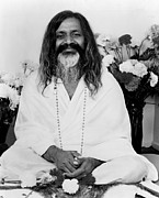 Featured Art - Maharishi Mahesh Yogi, Founder by Everett