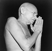 Gandhi Prints - Mahatma Gandhi 1869-1948 In 1946 Print by Everett