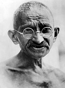 Gandhi Prints - Mahatma Gandhi In 1931 Print by Everett