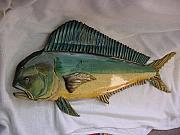 Aquatic Life Reliefs - Mahi Mahi number 7-SOLD by Lisa Ruggiero