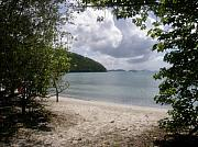 Bay Islands Framed Prints - Maho Bay St John USVI Framed Print by Kimberly Mohlenhoff
