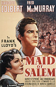 Claudette Posters - Maid Of Salem, Claudette Colbert, Fred Poster by Everett