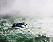 Maid Photos - Maid of the Mist at Niagara Falls by Vicki Jauron