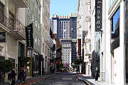 Geary Boulevard Framed Prints - Maiden Lane . San Francisco Framed Print by Wingsdomain Art and Photography