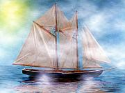 Tall Ship Prints - Maiden Of The Mist Print by Madeline  Allen - SmudgeArt