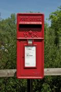 Mail Box Prints - Mail Box Surrey England Print by Gerry Walden