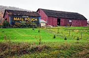 Pa Barns Prints - Mail Pouch 2 Print by Steve Harrington