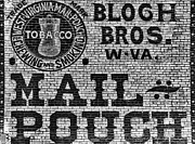 Mail Pouch Days Print by Paul W Faust -  Impressions of Light
