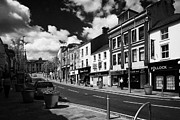 Town Center Prints - Main High Street Omagh Town Center County Tyrone Northern Ireland Print by Joe Fox