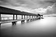 Railing Prints - Main Jetty Print by Photography By Azrudin