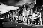 Picturesque Town Posters - main road through the picturesque small town of Callander scotland uk Poster by Joe Fox