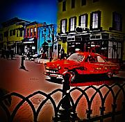 Main Street Prints - Main Street Print by Bill Cannon