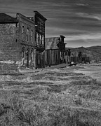 Boone County Framed Prints - Main Street Bodie CA Framed Print by Troy Montemayor