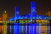 Florida Bridge Photo Originals - Main Street Bridge by Joseph Williams