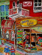 Michael Litvack Art - Main Street Everywhere by Michael Litvack