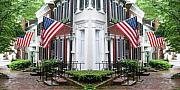 Patriot Photo Originals - Main Street  by Tracy Hayden