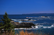 Surf Photos Art Prints - Maine At West Quoddy Print by Skip Willits
