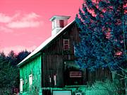 Maine Barn Print by Marie Jamieson