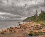 Landscape Photos - Maine Coastline. Acadia National Park by Juli Scalzi
