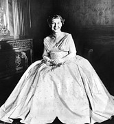 Future First Lady Posters - Maine Eisenhower Models The Gown Poster by Everett