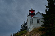 Maine Lighthouses Photo Posters - Maine Lighthouse Poster by John Greim