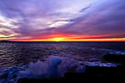 Maine Coast Prints - Maine Sunrise Print by Chad Tracy