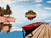 Maine-tage Print by Peter J Sucy