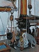 San Juan Paintings - Mainmast by Robert Bissett