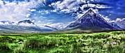 Majestic Highlands Print by Wendy White