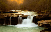 Arkansas Photos - Majestic Waterfalls by Iris Greenwell
