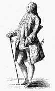 18th Century Prints - MAJOR, 18th CENTURY Print by Granger