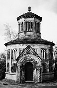 Major Framed Prints - Major Archibald Douglas Monteath Mausoleum  in glasgow necropolis victorian cemetery scotland uk Framed Print by Joe Fox