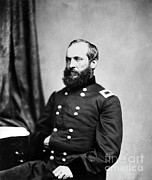 James Garfield Framed Prints - Major General Garfield, 20th American Framed Print by Chicago Historical Society