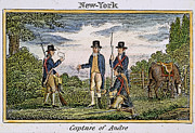 Major Framed Prints - Major John Andre, 1780 Framed Print by Granger