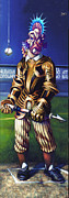 Baseball Paintings - Major League Gladiator by Patrick Anthony Pierson