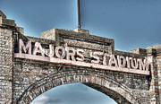Baseball Teams Posters - Majors Stadium Poster by Lisa Moore
