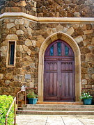 Makawao Photos - Makawao Union Church Doors by Karon Melillo DeVega