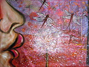 Dragonflies Originals - Make a Wish by Leslie Weddell